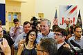 Governor of Florida Jeb Bush at TurboCam, Barrington, NH 1 on August 25th by Michael Vadon.jpg