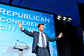 Governor of Louisiana Bobby Jindal at Southern Republican Leadership Conference, Oklahoma City, OK May 2015 by Michael Vadon 06.jpg