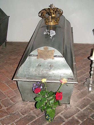 Otto of Bavaria - Sarcophagus of King Otto I in the St. Michael's Church in Munich