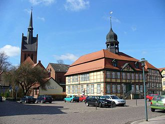 Grabow - Image: Grabow Rathaus