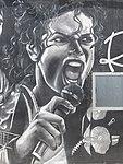Graffiti de Michael Jackson a Sollana (Art urbà al País Valencià).jpg