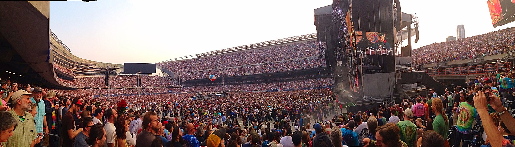 Fare Thee Well at Soldier Field, Chicago Grateful Dead - Fare Thee Well - Soldier Field - Chicago - 2015.jpg