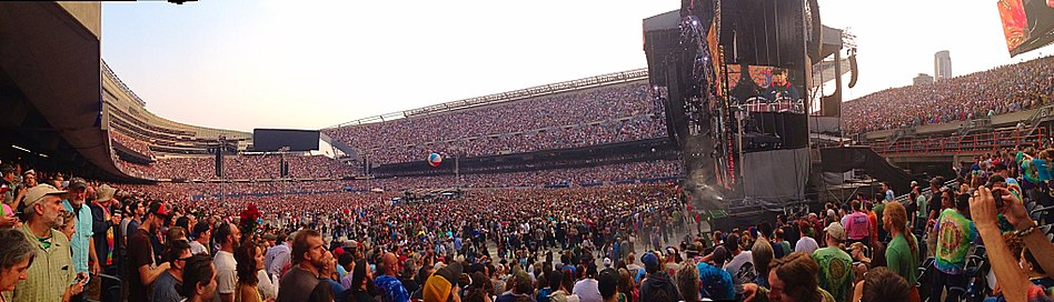 Fare Thee Well: Celebrating 50 Years of the Grateful Dead at Soldier Field, Chicago, Illinois