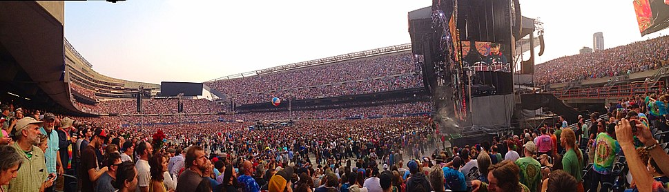 Grateful Dead - Fare Thee Well - Soldier Field - Chicago - 2015