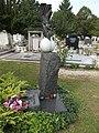 Grave of Istvan Baka by Pal Farkas, 2016 Szekszard.jpg