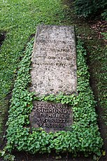 Grave of Richard Zsigmondy at Stadtfriedhof Göttingen 2017 01.jpg