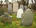 Graves, Templepatrick graveyard (2) - geograph.org.uk - 662789.jpg
