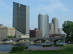 Skyline of City of Grand Rapids