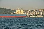 Great Navigator cargo on the Bosphorus in Istanbul, Turkey 003.JPG
