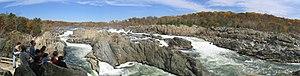 Great Falls Park - Image: Great falls wide