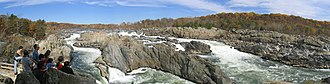 Great Falls Park - Image: Great falls wide