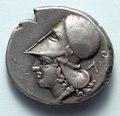 Greece, 4th century BC - Corinthian Stater- Athena (reverse) - 1917.978.b - Cleveland Museum of Art.tif