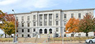Greene County, Missouri - Image: Greene County MO Courthouse 20151022 143