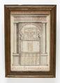 Gregoriansk kalender från år 1720 med veckodagar, månader, skottår, stjärntecken m.m - Skoklosters slott - 93148.tif