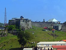 2012 Colour photograph of Fort St George, Grenada