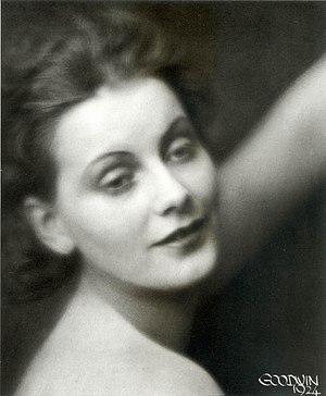 Greta Garbo photographed in 1924