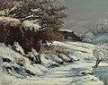 Gustave Courbet - Effet de neige (1860s).jpg