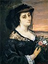 Gustave Courbet - Portrait of Laure Borreau - WGA05496.jpg