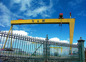 Picture of Harland & Wolff David and Goliath c...