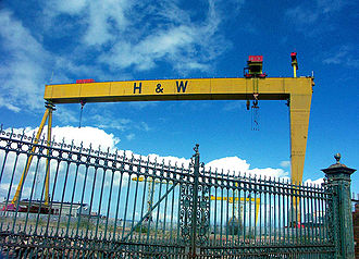 Harland and Wolff - The Samson and Goliath gantry cranes have become city landmarks