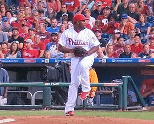 Héctor Neris - Neris with the Phillies in 2016