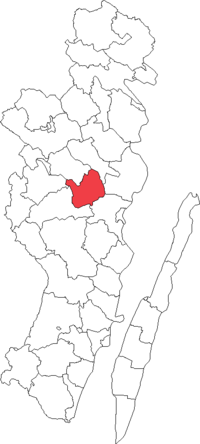 Kristdala landskommune i Kalmar amt