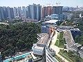 HK 九龍塘 Kln Tong 達之路 Tat Chee Avenue 香港城市大學 HKCityU 劉鳴煒學術樓 Lau Ming Wai Academic Building view Tat Chee Avenue September 2019 SSG 22.jpg