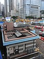 HK Central Man Yiu Street footbridge view construction site n public T Dec-2012.JPG