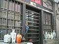HK SSP Apliu Street 187 Old Wood Door n China wares Near Kln Dragon Plaza.JPG