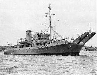 Operation Hurricane - Image: HMAS Karangi