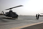 HMLA-467 conducts first combat deployment supporting operations in Helmand province, Afghanistan 140703-M-JD595-0062.jpg