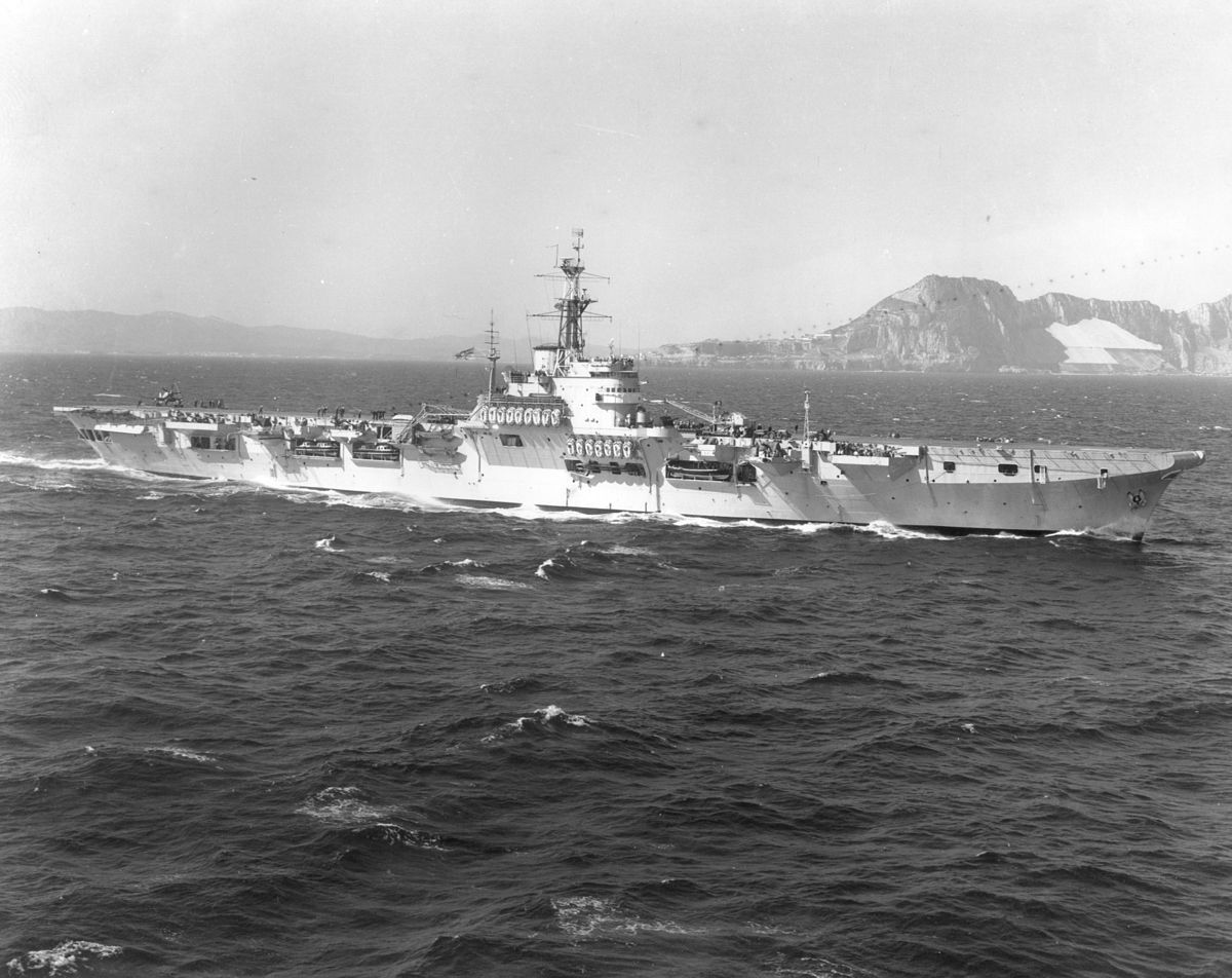 British battleships on conservation in the 1950s 87
