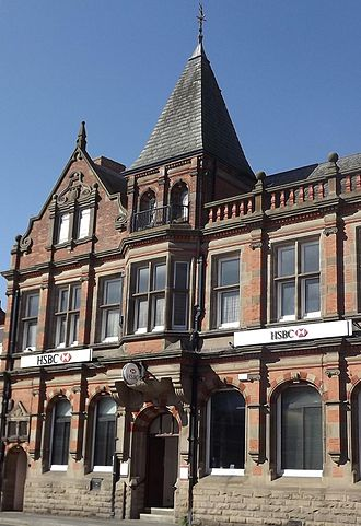 Long Eaton - Image: HSBC, Market Place, Long Eaton, Derbyshire