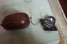 Un haggis crudo di piccolo taglio.