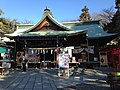 Haiden of Sanko Inari Shrine.JPG