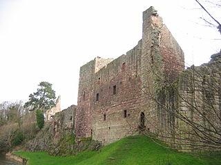 Hailes Castle 14th c. Scottish castle