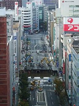 Hakata sinkhole 20161109