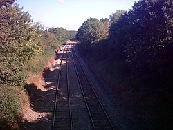 Halesworth to Saxmundham Railway line - geograph.org.uk - 235467.jpg