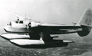 Hall XPTBH - The XPTBH-2 in flight