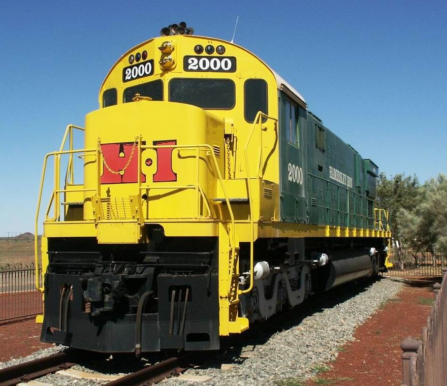 Hamersley Iron 2000 locomotive, Dampier