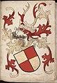 Hanawe – Hanau? (Ahaus?) - Wapenboek Nassau-Vianden - KB 1900 A 016, folium 36r.jpg