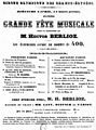 Handbill for Berlioz concert of 6 April 1845 at the Cirque Olympique des Champs-Élysées - Holoman 1989p318.jpg