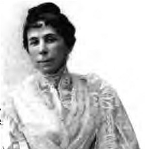 Hannah Slade Currier - Photograph of Hannah from a 1903 publication