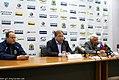 Hannu Jortikka and Sergei Mikhalyov 2011-09-23 Amur—Salavat KHL-game.jpeg