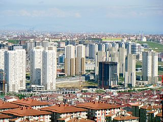 Esenyurt District in Istanbul Province, Turkey