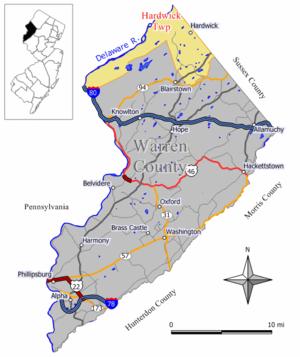 Hardwick Township, New Jersey - Image: Hardwick twp nj