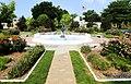 Harmon Park Garden and fountain, Kearney, NE.JPG