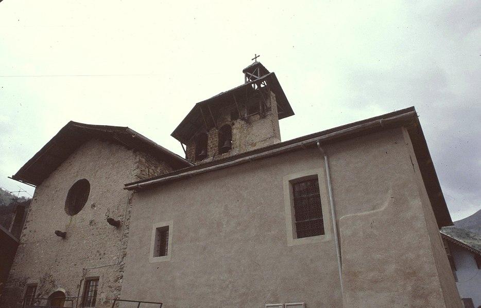 Hautes-Alpes Ceillac Eglise Saint-Sebastien 071986