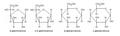 Haworth D-glukosa anomery.PNG