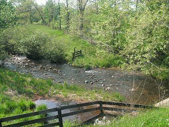 Hazel River - The Hazel River near Sperryville